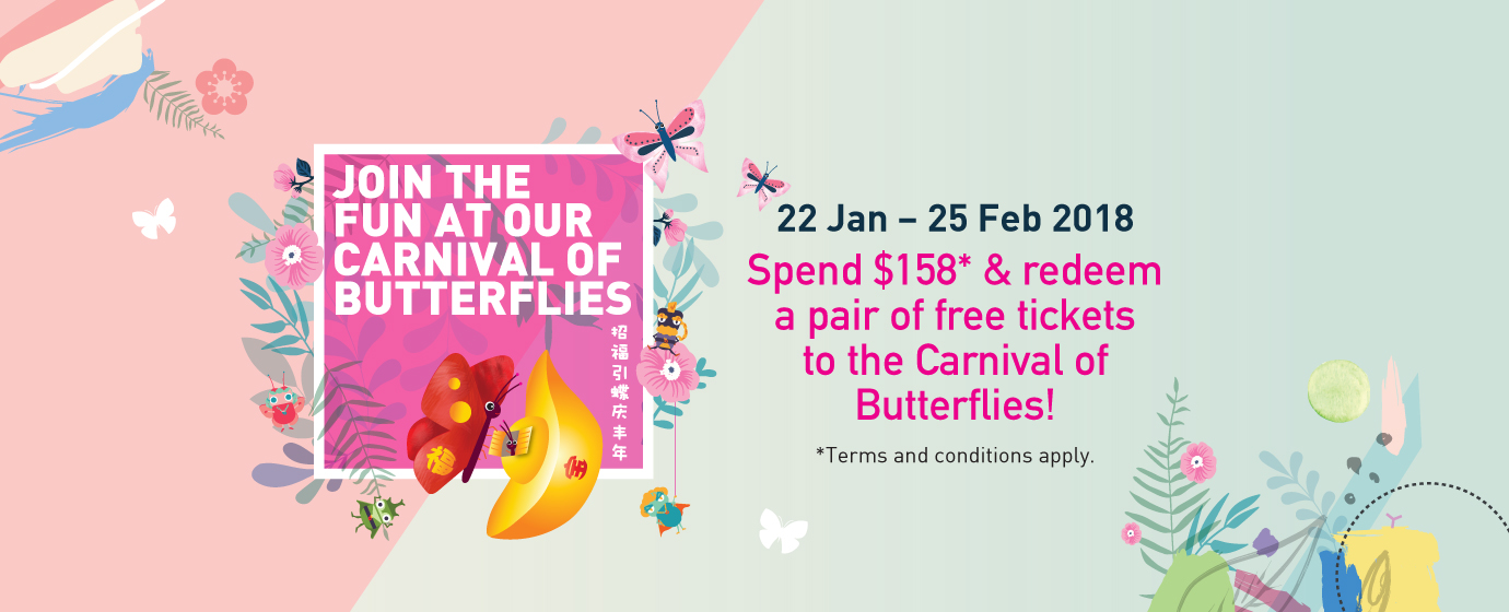 JOIN THE FUN AT OUR CARNIVAL OF BUTTERFLIES